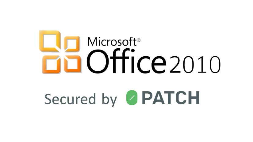 Micropatches for Windows Office 2010