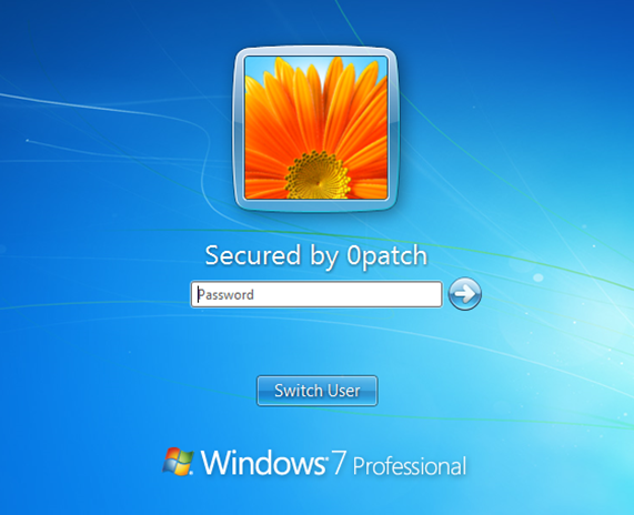 Windows 7 and Windows Server 2008 R2 security-adopted by 0patch